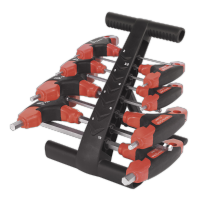 8pc T-Handle Ball-End Hex Key Set Metric. AK7144